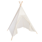 Ling's moment 15cm Giant Sparkly Sequins Lace Teepee Tent for Girl Kids Children Playhouse Tipi and Bohemian Tribal Wild One Girl First Birthday Wedding Party Teepee Decor