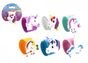 Unicorn Snap Bracelet Assorted Unicorn Wristbands ideal for Childrens Goodie Bag Fillers