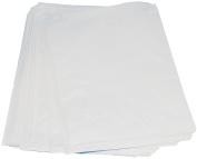 1000 x Food Grade, Sulphite White Bag. 15cm x 15cm