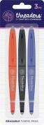 Crafter's Companion Threaders Erasable Fabric Pens 3/Pkg