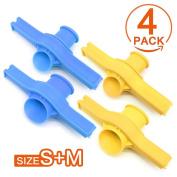 Sugar Salt clip food sealing clip with Discharge Nozzle Snack Bag Plastic Bags Ziplock Clip Home Food Storage Creative Kitchen Tool