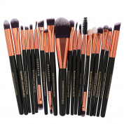 Hot Sale ❤️ Makeup Brush, Xinantime 20Pc Powder Foundation Eyeshadow Eyeliner Lip Cosmetic Brush Powder Foundation Eyeshadow Eyeliner Lip Cosmetic Brush