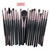 Make Up Brush Set, Xinantime 20 pcs Makeup tools Toiletry Kit Wool Make Up Set