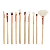 Makeup Brush Set, TopTen 10Pcs Synthetic Cosmetics Foundation Blending Concealer Eyeliner Face Powder Beauty Brushes Cosmetics Makeup Brush Kit