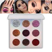 Allbesta 9 Colours Per Cheek Blush Palette Matte Shimmer pigmented Face Blush