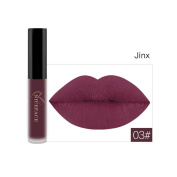 niceface New Lip Lingerie Matte Fluid Liquid for Lips Make-Up Waterproof Lip Gloss 12 Tones 9.8*1.5*1.5 c