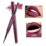 MISS ROSE Charming 8 Colour Double-end Lasting Lipliner, OHQ Waterproof Lip Liner Stick Pencil Lip Liner