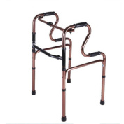 JIN The Elderly Walker Aluminium Alloy Collapsible Non-Slip Medical Rehabilitation Health Care Four-Foot Crutches