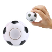 Mini Hand Spinner Soccer, Finger Ball Football EDC Decompression Stress Relief Gyro Toy Kids Baby Child Toys Gifts, Football