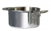 "Samuel Groves 1817 7"" Stainless Steel Triply Casserole Pan 178Mm Dia Lids"