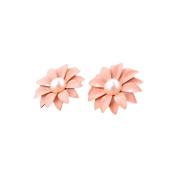 Sterling Silver Stud Earrings, KEERADS Fashion Women's 925 Sterling Daisy Pearl Rhinestone Ornament Earrings
