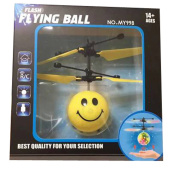 KuoShun Infrared Induction Helicopter Emoji Ball Toys RC Drone Sensor Aircraft Toys