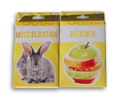 Basic Math Skills Flash Cards - Multiplication and Division