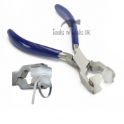 Medium Curved Nylon Jaws Ring Bending Bracelet Pliers Optical Watch Pin PVC grip