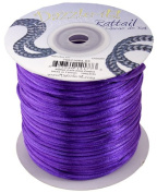 2mm Purple Rattail Cord, 100yd Spool