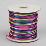 Rattail Cord 3mm Rainbow, priced per 5 metre