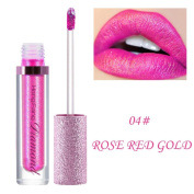 Saihui Shimmer Lipstick Diamonds Waterproof Long Lasting Lip Cosmetic Beauty Makeup
