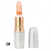 Tonsee Lipstick Beauty Bright Flower Crystal Jelly Lipstick Temperature Change Colour Lip