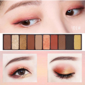 Hot Sale ❤️ 10 Colours Eyeshadow, Xinantime Shimmer Cosmetic Makeup Matte Naked Eyeshadow Palette Sombras