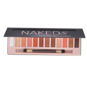 ✰ Eyeshadows ✰, Xinantime 12 Colours Shimmer Matte Naked Cosmetic Eyeshadow Palette Sombras