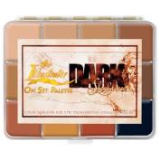 Skin Illustrator On-Set Dark Fleshtone Makeup Palette PPI Premiere Products Inc Alcohol Activated