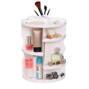 Saihui 360 Degree Rotating Cosmetic Display Spinning Rack Storage Box Makeup