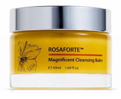 Green Keratin ROSAFORTE Magnificent Cleansing Balm || Rose, Rosehip & Vitamin E || Face & Eye Cleanser for Dry, Mature Skin