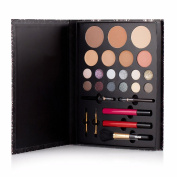 DMM Impeccable Set Day Nighttime Look Makeup with Eye Shadow Body Glitter Liner Lip Gloss Face Powder Concealer Brush