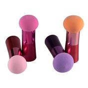 Msmask Cosmetic Face Soft Makeup Foundation Powder Handle Puff Cotton Sponge Brush Tool