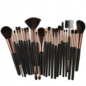 2018 Valentine's day Feixiang Exclusive Custom 25pcs Vegan Pro Cosmetics Kabuki Brush Makeup Brush Set flat top foundation/angled blusher/face powder/stippling/face contour makeup brush set