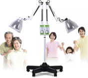 BIOFAMILY Infrared Lamp Muscle Pain Relief Accupuncture Beauty Care Lamp Dimmable Flexible Arm Baking Lamp 275W