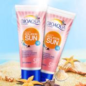 BIOAQUA Sunblock Sunscreen Isolation Lotion Cream Waterproof SPF30 PA+++ Nourishing Whitening UV Radiation Sun Protection Face Cream