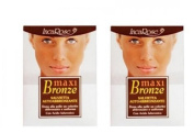 INCAROSE Single Maxi Bronze Cleaning Wipe – autoabbronzante 6 ml -2 Packs gives the face a beautiful Tan Natural and Uniform