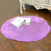 [ Soft ] Artificial Sheepskin Rug [ Chair Cover ] Artificial Wool Warm Hairy Carpet [ Seat Mat ]