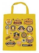 Eco-Friendly Cotton Bag - Allover- Pressure On Honey- 08844