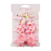 Buimin Hairbands for Baby Girls,Beautiful Headbands Elastic Hairband for Photograph