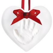 Baby Hand & Footprint Makers,Baby Handprint Ornament Kit, Proud Baby Deluxe Clay Hand Print and Footprint Keepsake Kit, Makes A Great Holiday Gift And Keepsake