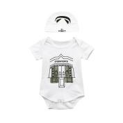 Baby Jumpsuit,Dorame Toddler Infant Baby Boys Short Sleeve Romper Jumpsuit Cap Outfits Set Clothes