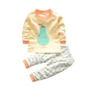 Baby Long sleeve Home Set,Dorame Toddler Baby Boys Girls Long sleeve fruit print T-Shirt Tops +Pants Outfit Pyjamas Home Set