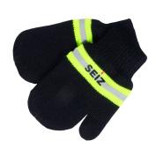 Seiz 136551 002 FIRE FIGHTER Toddler Baby Gloves Mittens, Black