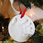 Oyedens Baby Handprint Footprint Soft Clay Casting Printing Kits Keepsake Gift