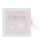 Baby Record Book Keepsake Gift Pink