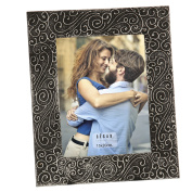 DonRegaloWeb – Wooden Photo Frames Decorated for Photo 15 x 20 cm In Grey