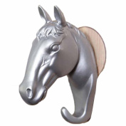 Wokee Small Horse Wall Piece Decorative Resin Home Furnishing Modern Hooks Wall Decor