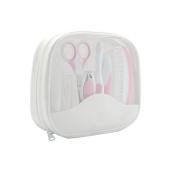 FYGOOD Baby Grooming kit, Newborn, Toddler, Infant Healthcare kit, 7 pcs Nursery Set pink one size