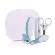 FYGOOD Baby Grooming kit, Newborn, Toddler, Infant Healthcare kit, 7 pcs Nursery Set blue one size