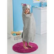 New Style Kids Hooded Bath Towel Animals Design Bath Towel - Cat