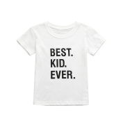 Y56 Baby Boys Girls Outfits Clothes, Newborn Toddler Infant Baby Boys Girls Kawaii Summer Letter T Shirt Tops Outfits Clothes,24M-7T