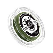 Toho One-G Nylon Beading Thread 0.2mm Green 125yd Reel