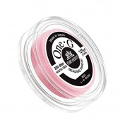 Toho One-G Nylon Beading Thread 0.2mm Pink 125yd Reel